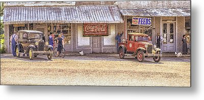 My Home Town Metal Print by Ron  McGinnis