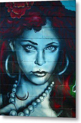 My Lady ... Metal Print by Juergen Weiss