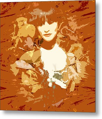 My Lady Of The Wood Metal Print by James Granberry