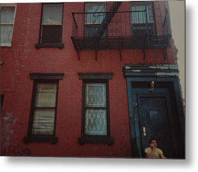 My Pops First Home In The United States Metal Print by Rob Hans