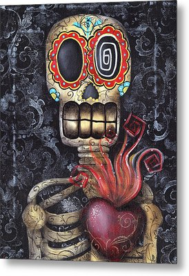 My Sacred Heart Metal Print by  Abril Andrade Griffith