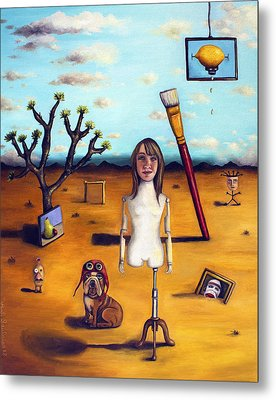 My Surreal Life Metal Print by Leah Saulnier The Painting Maniac