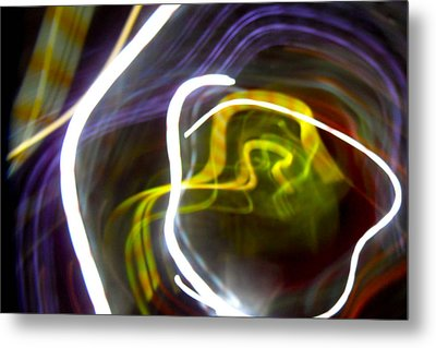 Mystic Rose Metal Print by Ilan and Oxana Aelion