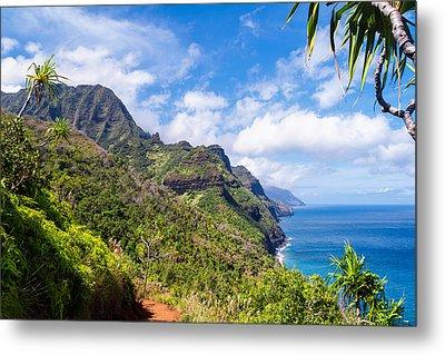 Na Pali Coast Kauai Metal Print by Brian Harig