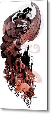 Nadja's Flight Metal Print by Brian Kesinger