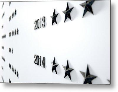 Nameless Honors Board Metal Print by Allan Swart
