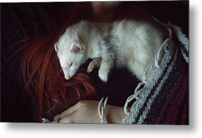 Nap Time Metal Print by Heather Gorman