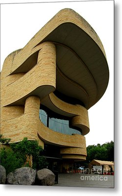 National Museum Of The American Indian 1 Metal Print by Randall Weidner