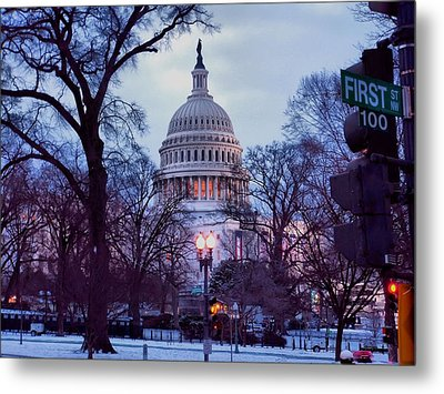 Nations Capitol Metal Print by Jimmy Ostgard