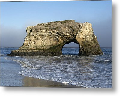 Natural Bridges State Park - Santa Cruz - California Metal Print by Brendan Reals