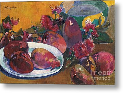 Nature Morte Aux Mangos Metal Print by Celestial Images