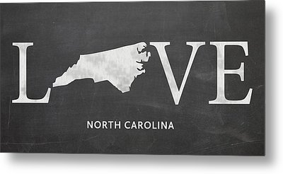 Nc Love Metal Print by Nancy Ingersoll