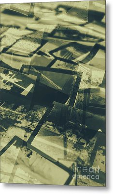 Negative Photos In Dark Room Metal Print by Jorgo Photography - Wall Art Gallery