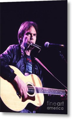 Neil Young 1986 #3 Metal Print by Chris Walter