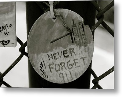 Never Forget Metal Print by Jerry Patterson