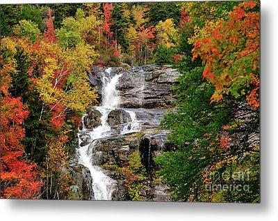 New Hampshire Waterfall Metal Print by Betty LaRue