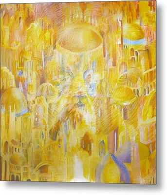 New Jerusalem Metal Print by Beka Burns