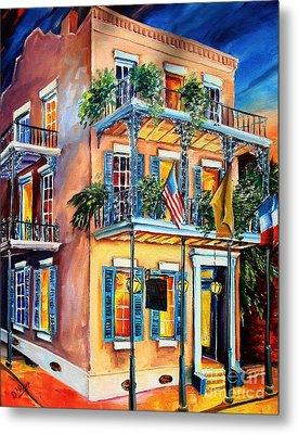 New Orleans' La Fitte's Guest House Metal Print by Diane Millsap