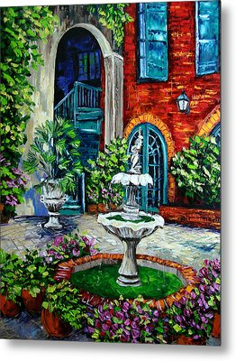 New Orleans Painting Brulatour Got A Penny Metal Print by Beata Sasik