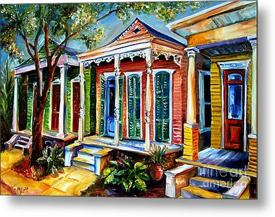 New Orleans Plain And Fancy Metal Print by Diane Millsap