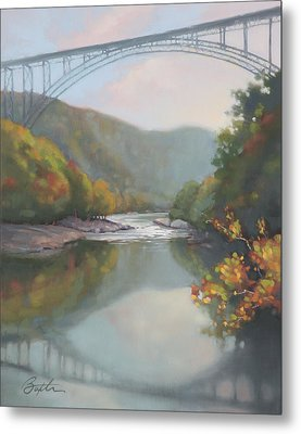 New River Gorge Metal Print by Todd Baxter