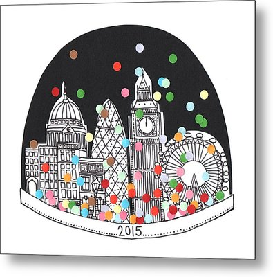 New Year Metal Print by Isobel Barber