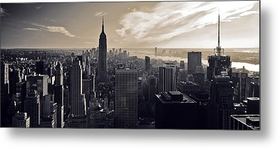 New York Metal Print by Dave Bowman