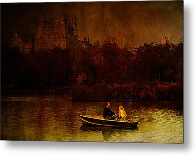 New York Fall Metal Print by Jeff Burgess