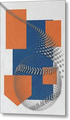 New York Mets Art Metal Print by Joe Hamilton