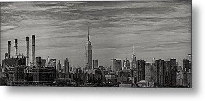 New York Skyline Metal Print by Robert Ullmann