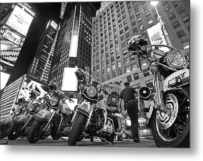 New York's Finest Metal Print by Robert Lacy