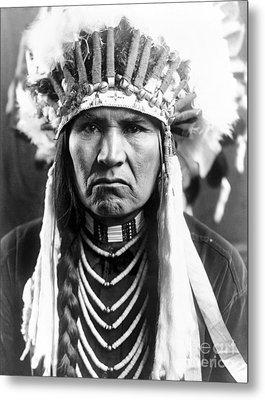 Nez Perce Native American Metal Print by Granger