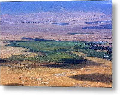 Ngorongoro Crater Tanzania Metal Print by Aidan Moran