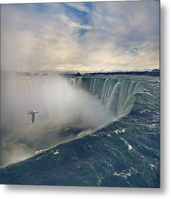 Niagara Falls Metal Print by Istvan Kadar Photography