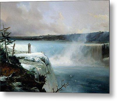 Niagara Falls Metal Print by Jean Charles Joseph Remond