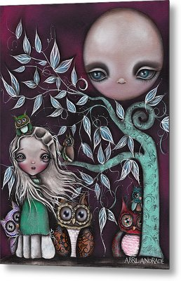 Night Creatures Metal Print by  Abril Andrade Griffith