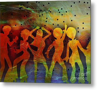 Night Fever Metal Print by Tammera Malicki-Wong