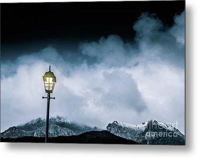 Night Landscape In Queenstown Tasmania Metal Print by Jorgo Photography - Wall Art Gallery