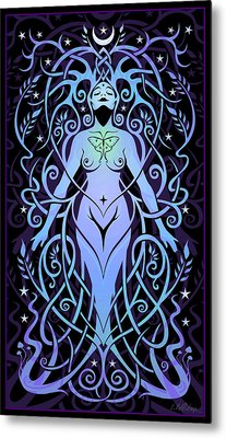 Night Song Metal Print by Cristina McAllister