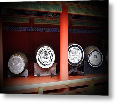 Nikka Whiskey Metal Print by Naxart Studio