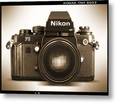 Nikon F3 Hp Metal Print by Mike McGlothlen