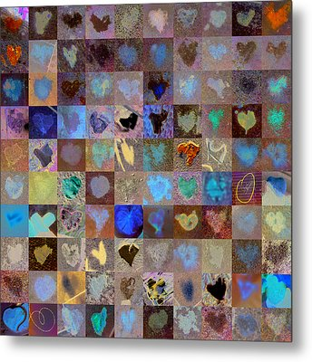 Nine Hundred Series Metal Print by Boy Sees Hearts