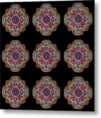 Nine Medallions Metal Print by Thomas Smith