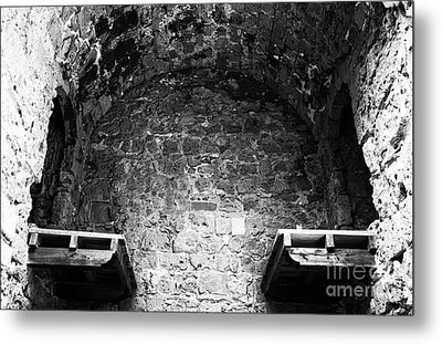No Escape From Paphos Metal Print by John Rizzuto