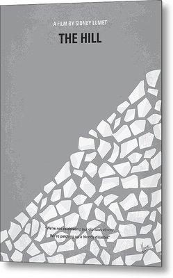 No091 My The Hill Minimal Movie Poster Metal Print by Chungkong Art
