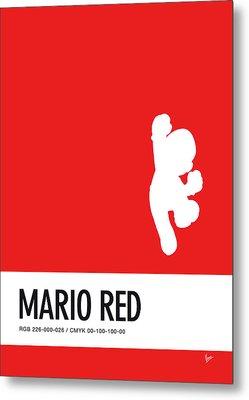 No33 My Minimal Color Code Poster Mario Metal Print by Chungkong Art