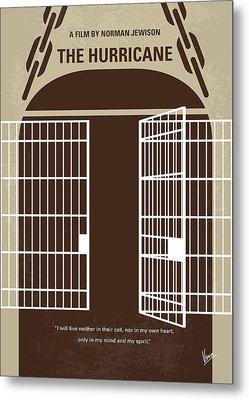No570 My The Hurricane Minimal Movie Poster Metal Print by Chungkong Art