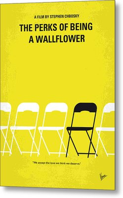 No575 My Perks Of Being A Wallflower Minimal Movie Poster Metal Print by Chungkong Art