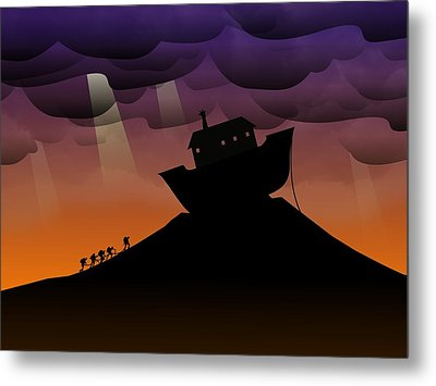 Noah's Ark Discovery Metal Print by Nestor PS