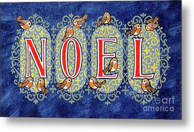 Noel Metal Print by Stanley Cooke